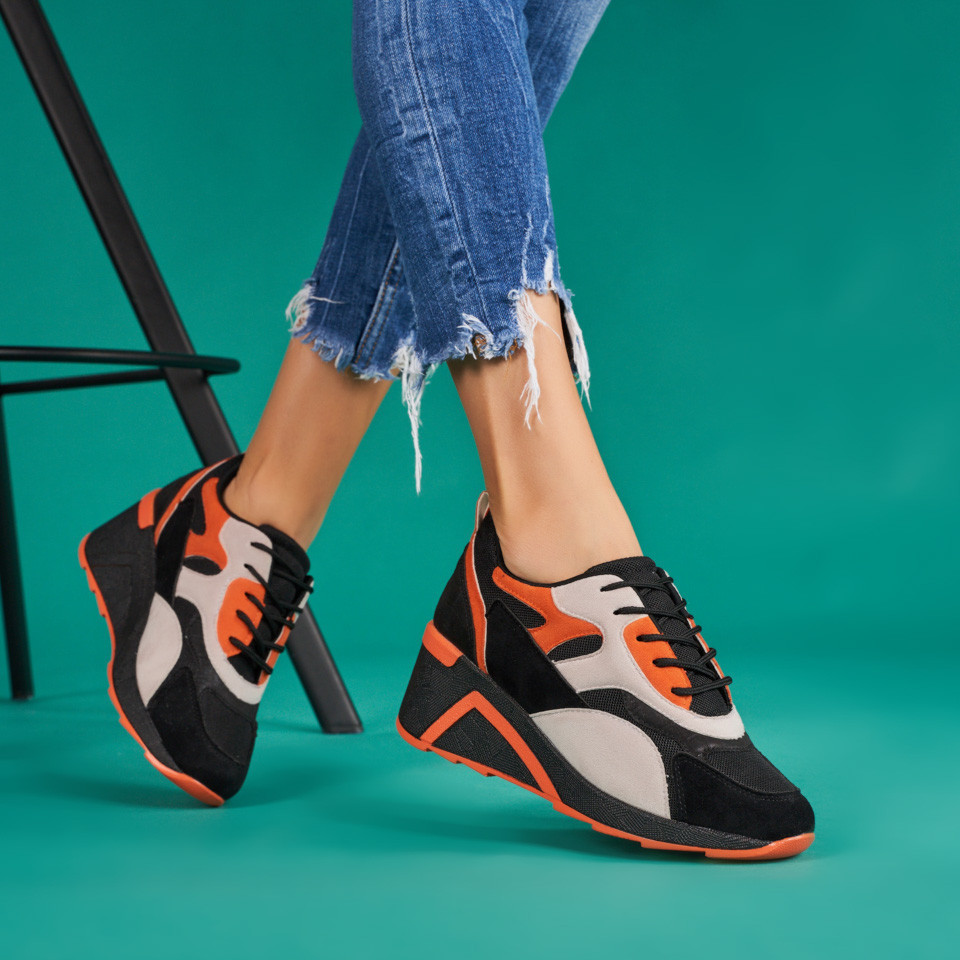Pantofi sport cu platforma dama SB1707B