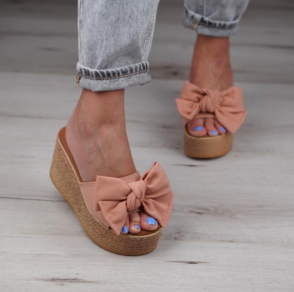 Papuci cu platforma dama SB1028B