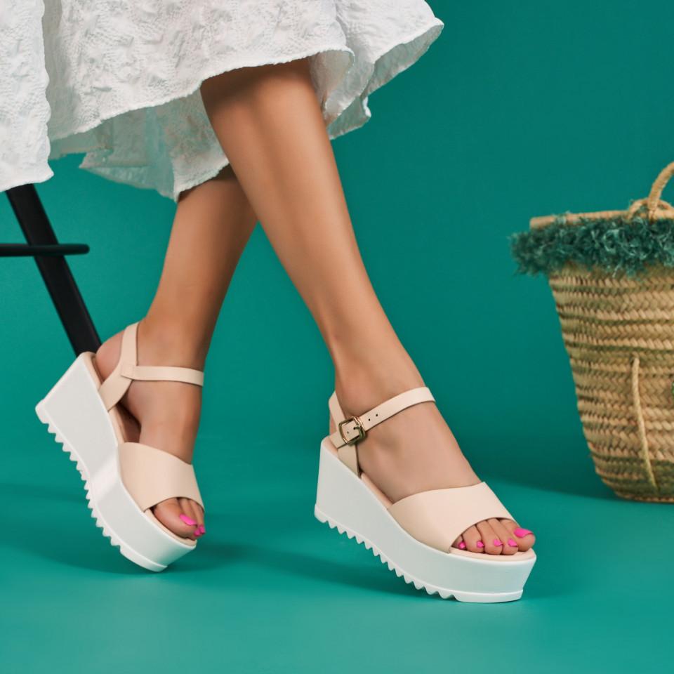 Sandale cu platforma dama SB1336B