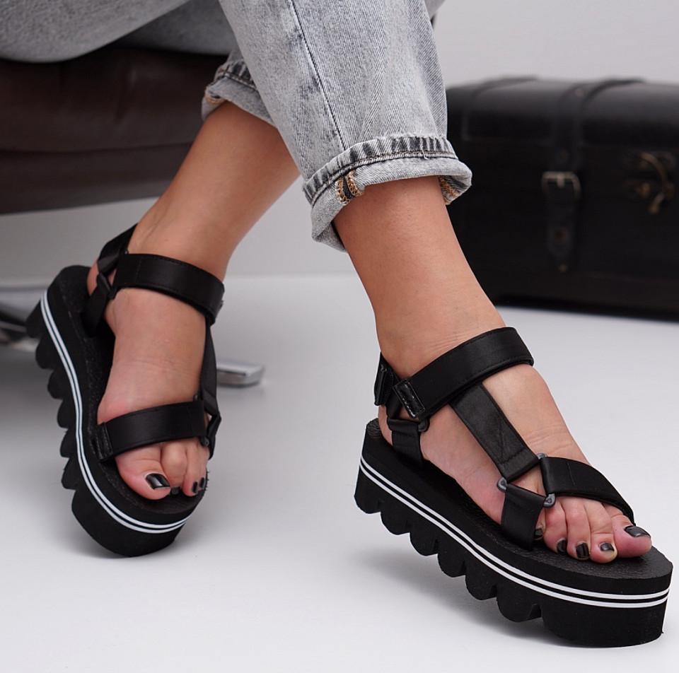 Sandale cu platforma dama SB1531B