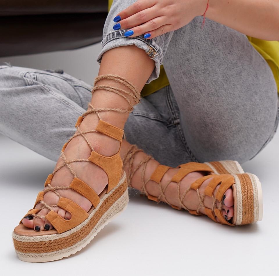 Sandale cu platforma dama SB1541B