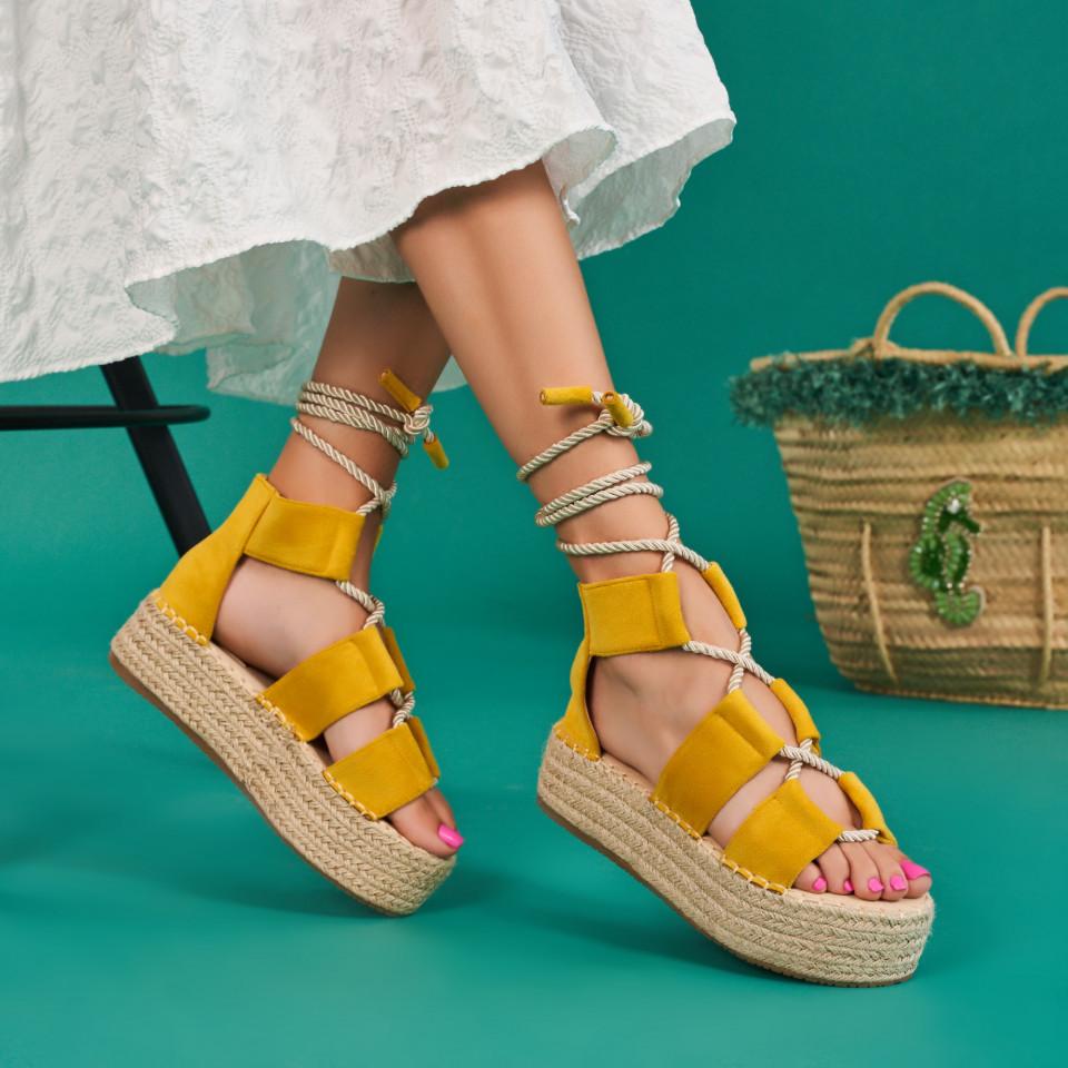 Sandale cu platforma dama SB1638B