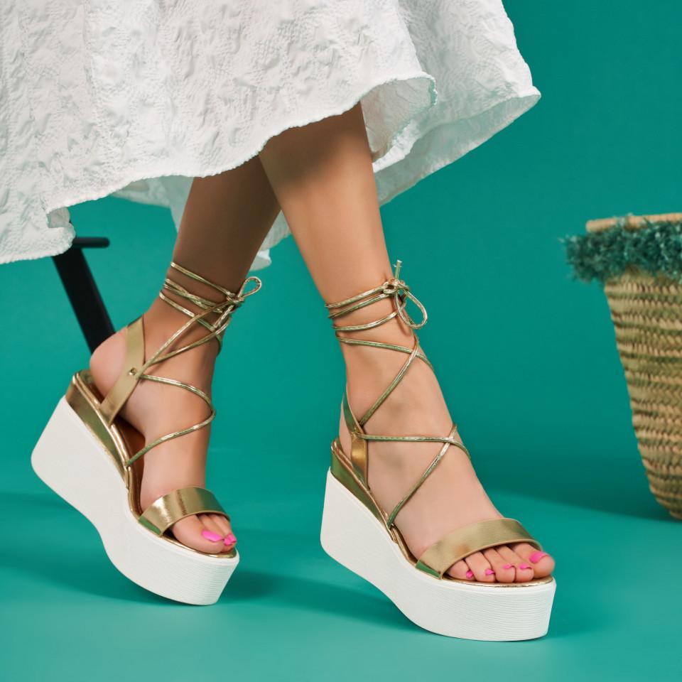 Sandale cu platforma dama SB1676B