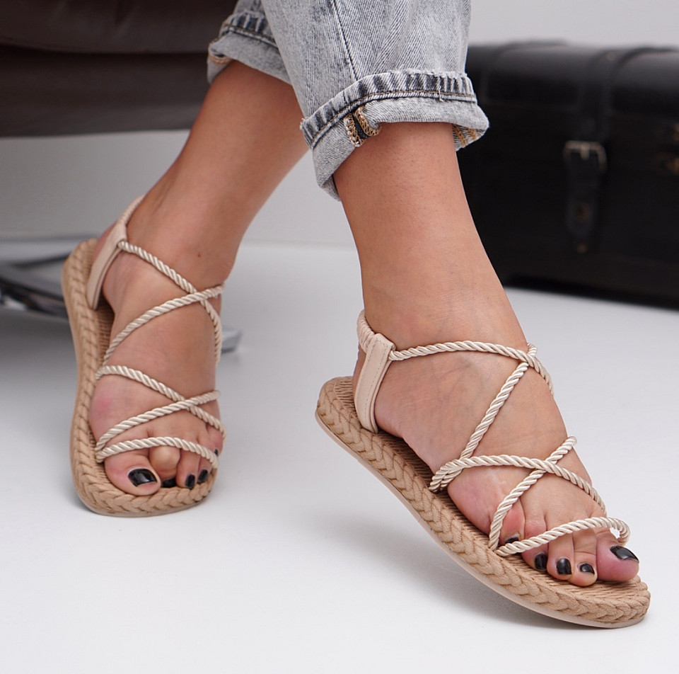 Sandale cu talpa joasa dama SB1524B