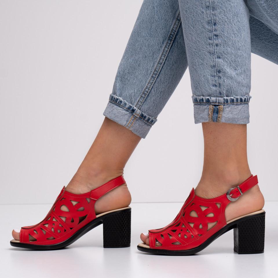 Sandale cu toc dama SB1401B