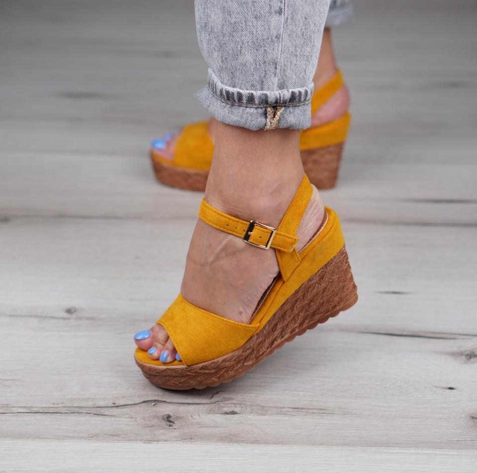 Sandale cu platforma dama SB1153B