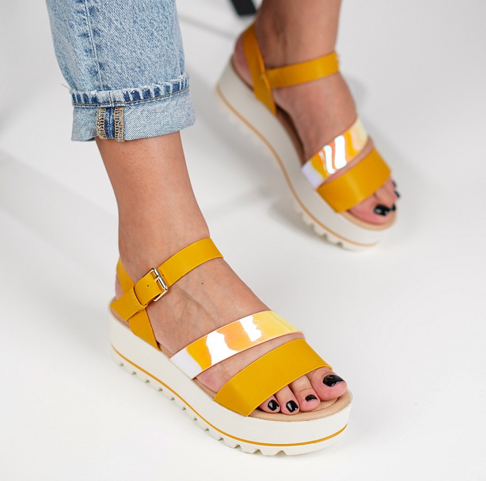 Sandale cu platforma dama SB1226B
