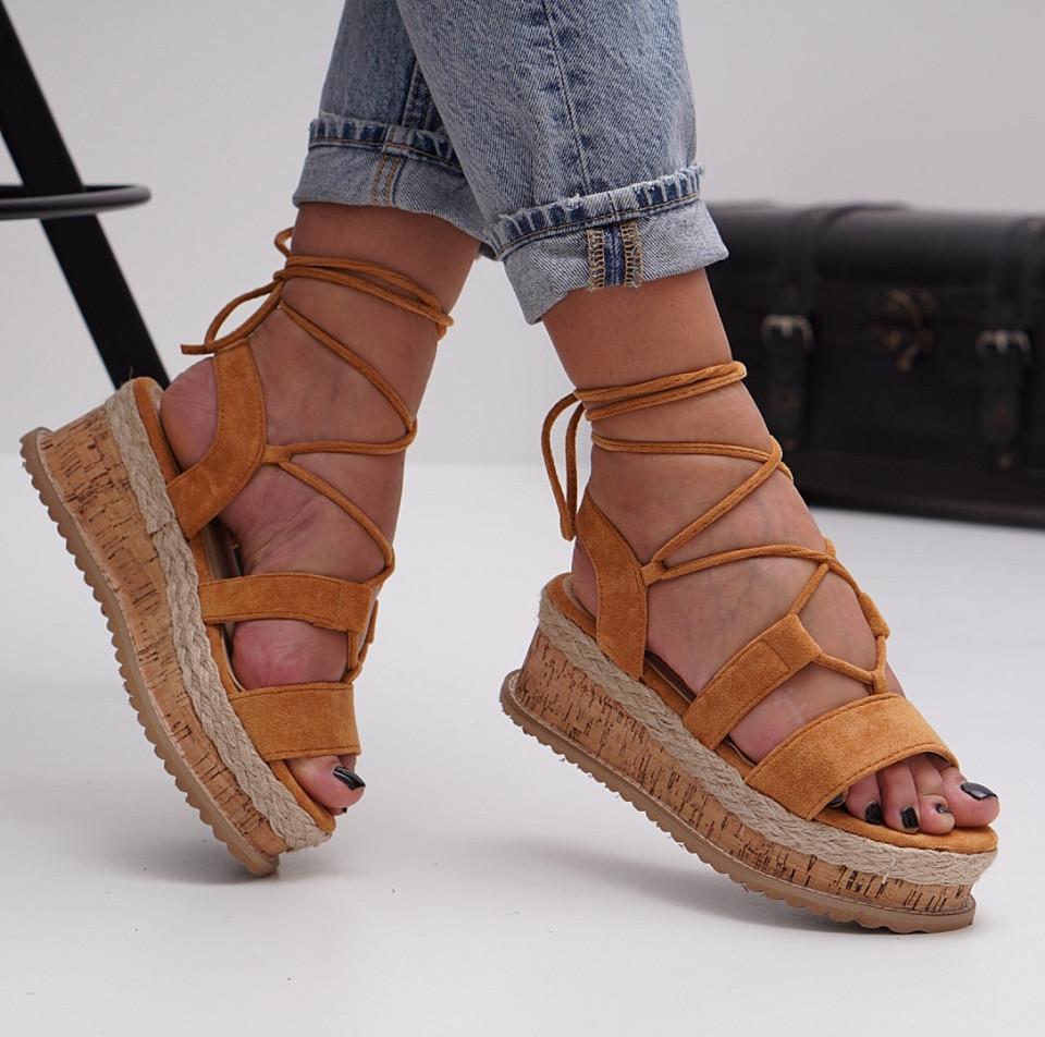 Sandale cu platforma dama SB1502B