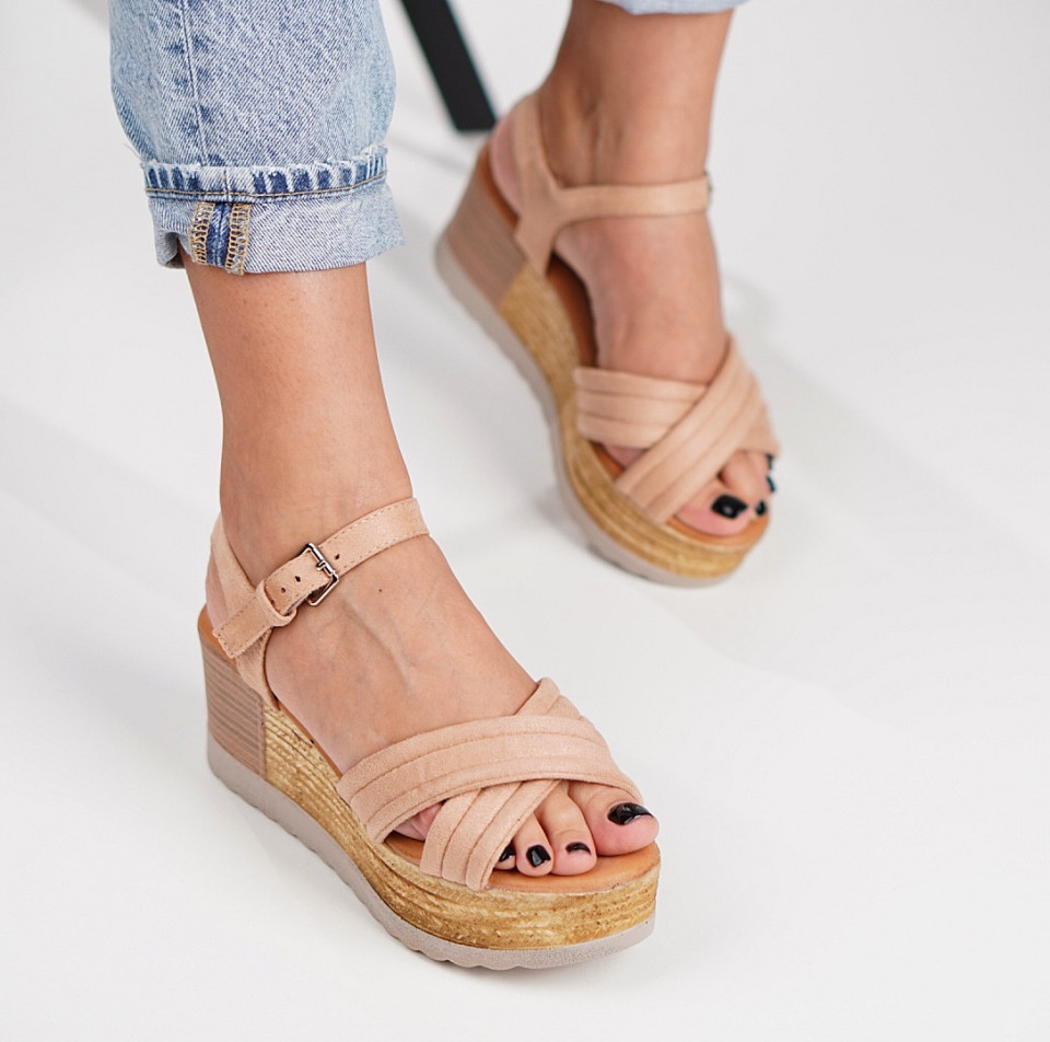 Sandale cu platforma dama SB1213B