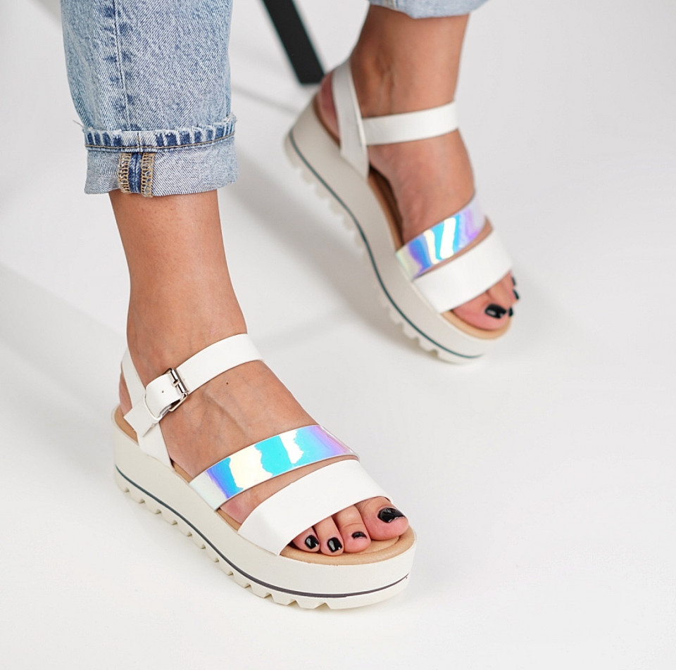 Sandale cu platforma dama SB1223B
