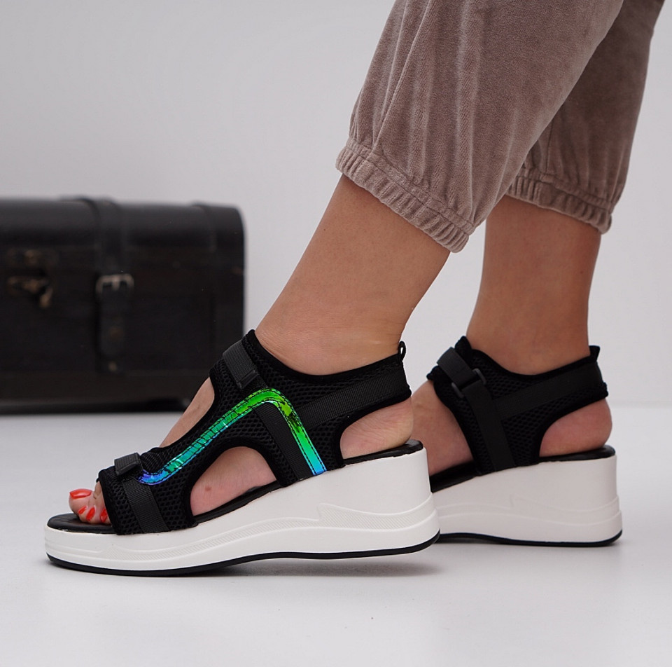 Sandale cu platforma dama SB1422B