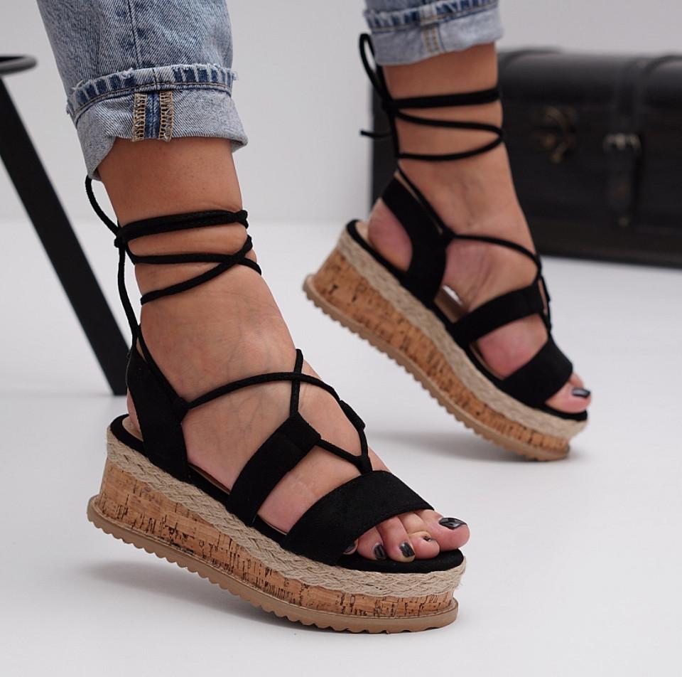 Sandale cu platforma dama SB1505B