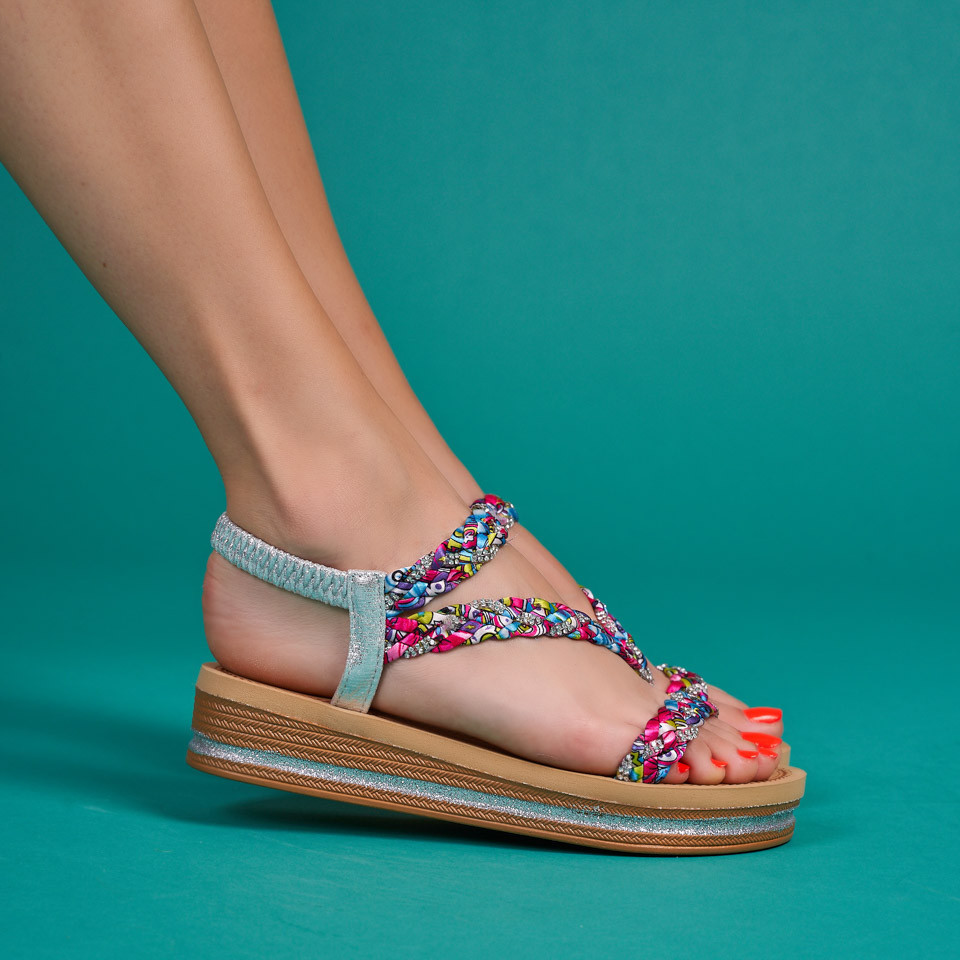 Sandale cu platforma dama SB1600B