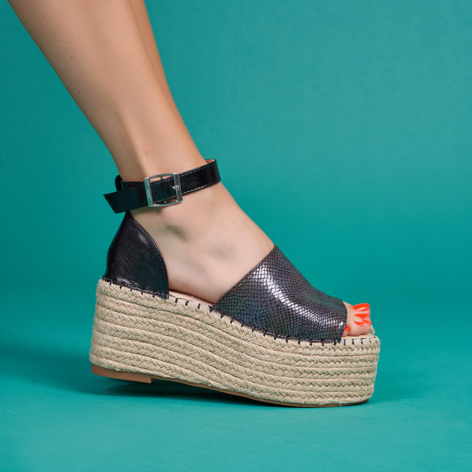 Sandale cu platforma dama SB1617B