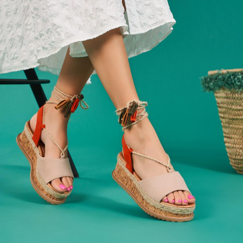 Sandale cu platforma dama SB1670B
