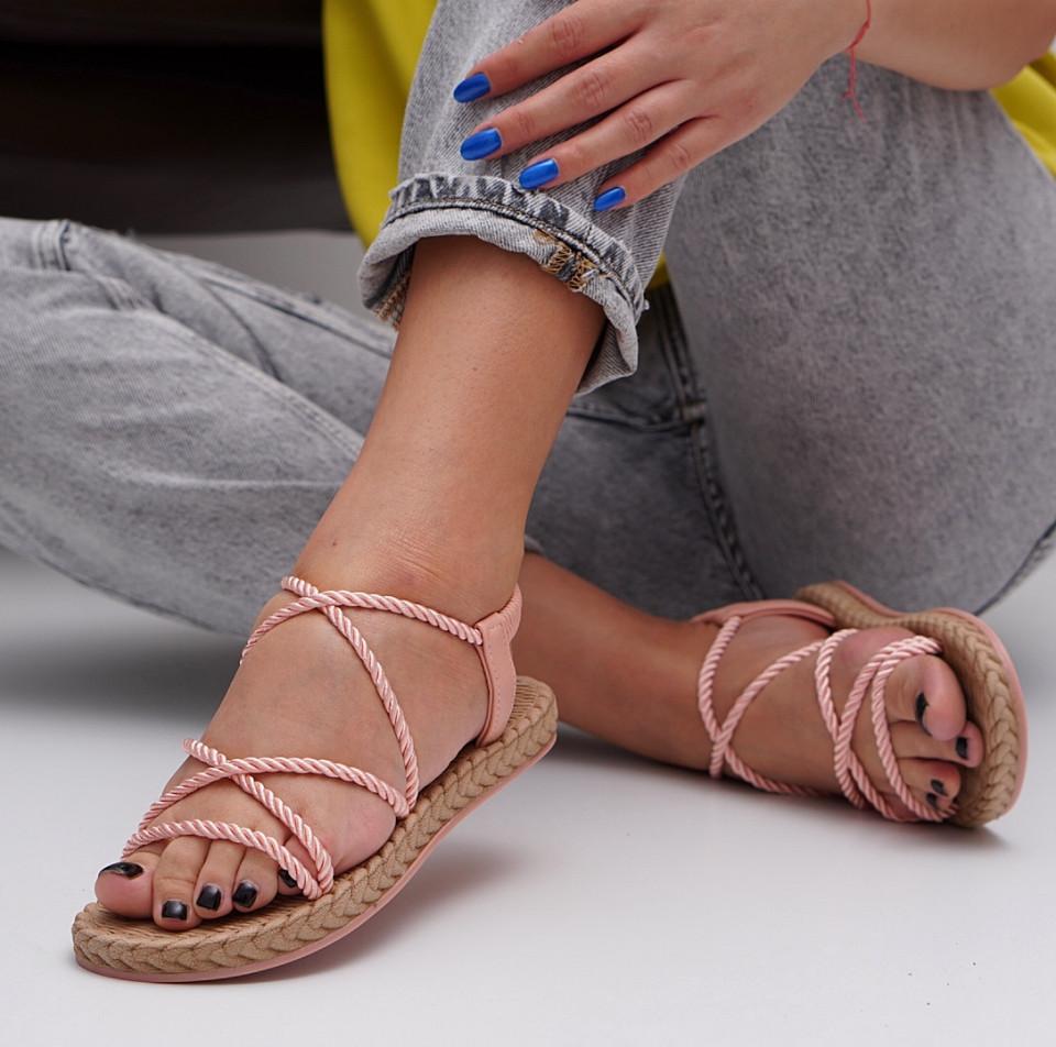 Sandale cu talpa joasa dama SB1528B