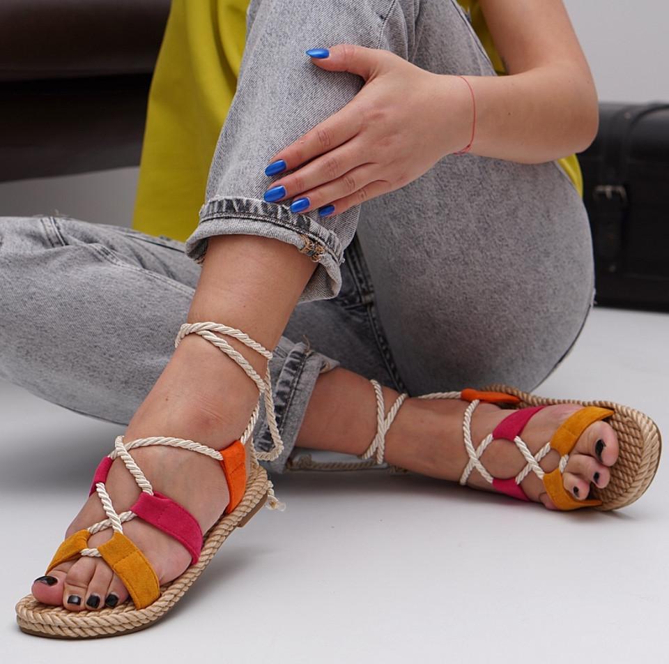 Sandale cu talpa joasa dama SB1542B