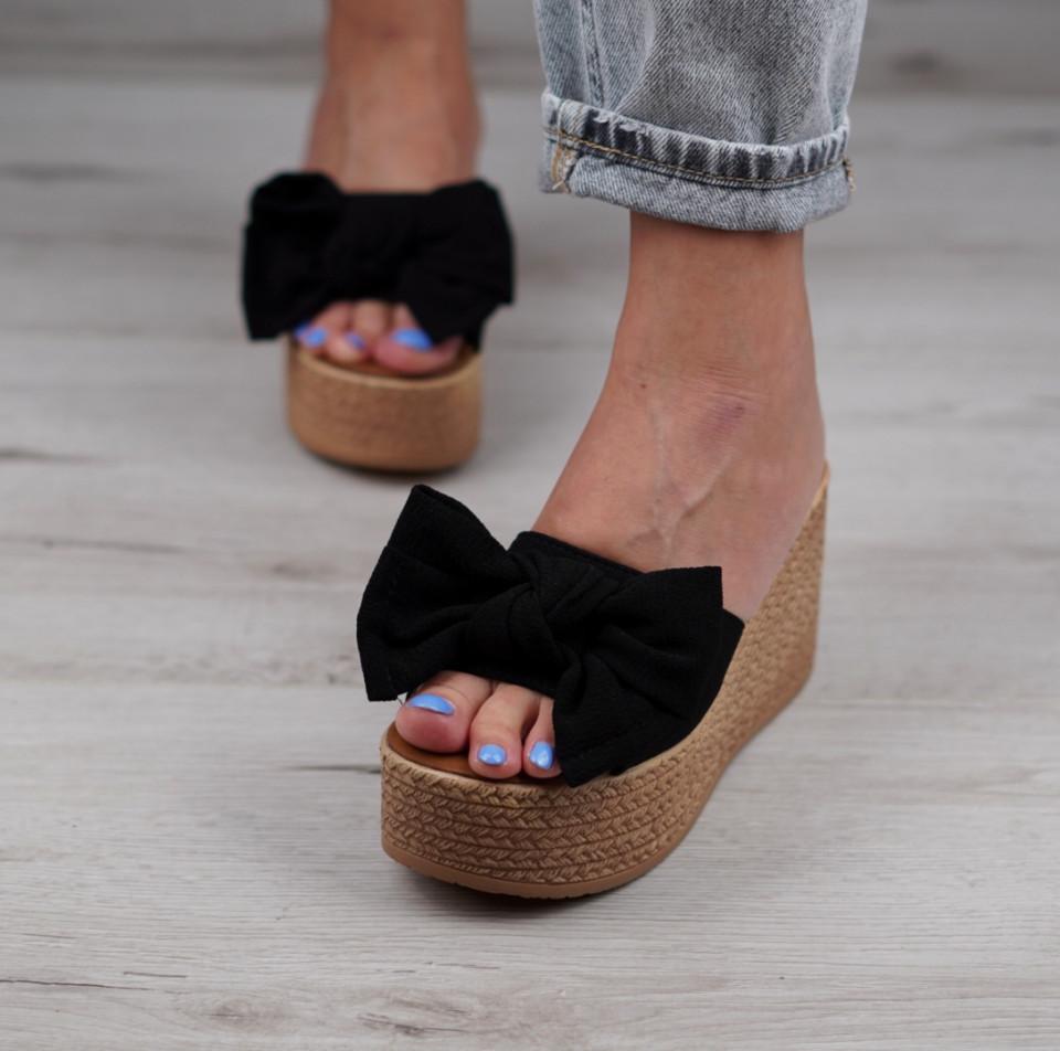 Papuci cu platforma dama SB1029B