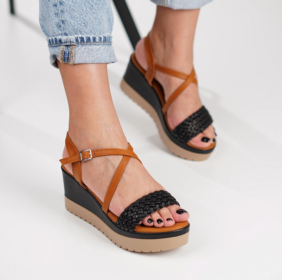 Sandale cu platforma dama SB1211B