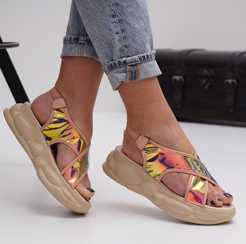 Sandale cu platforma dama SB1515B