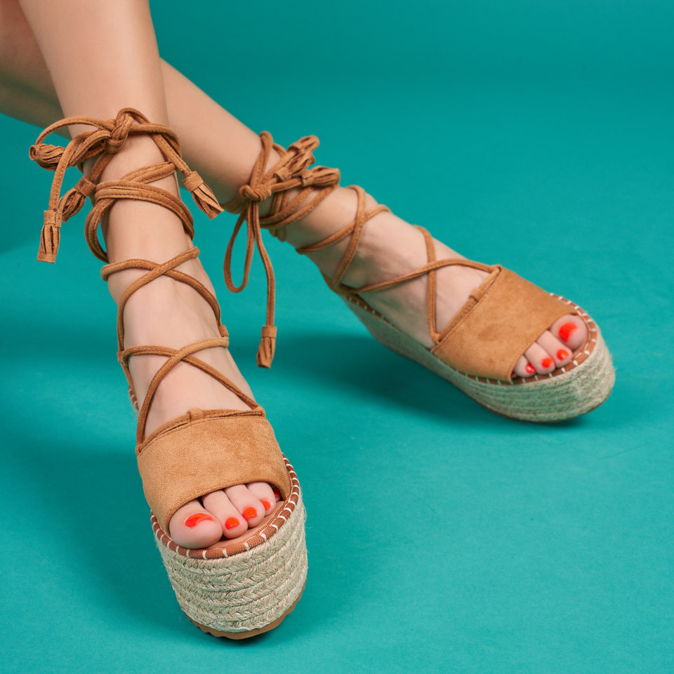 Sandale cu platforma dama SB1631B
