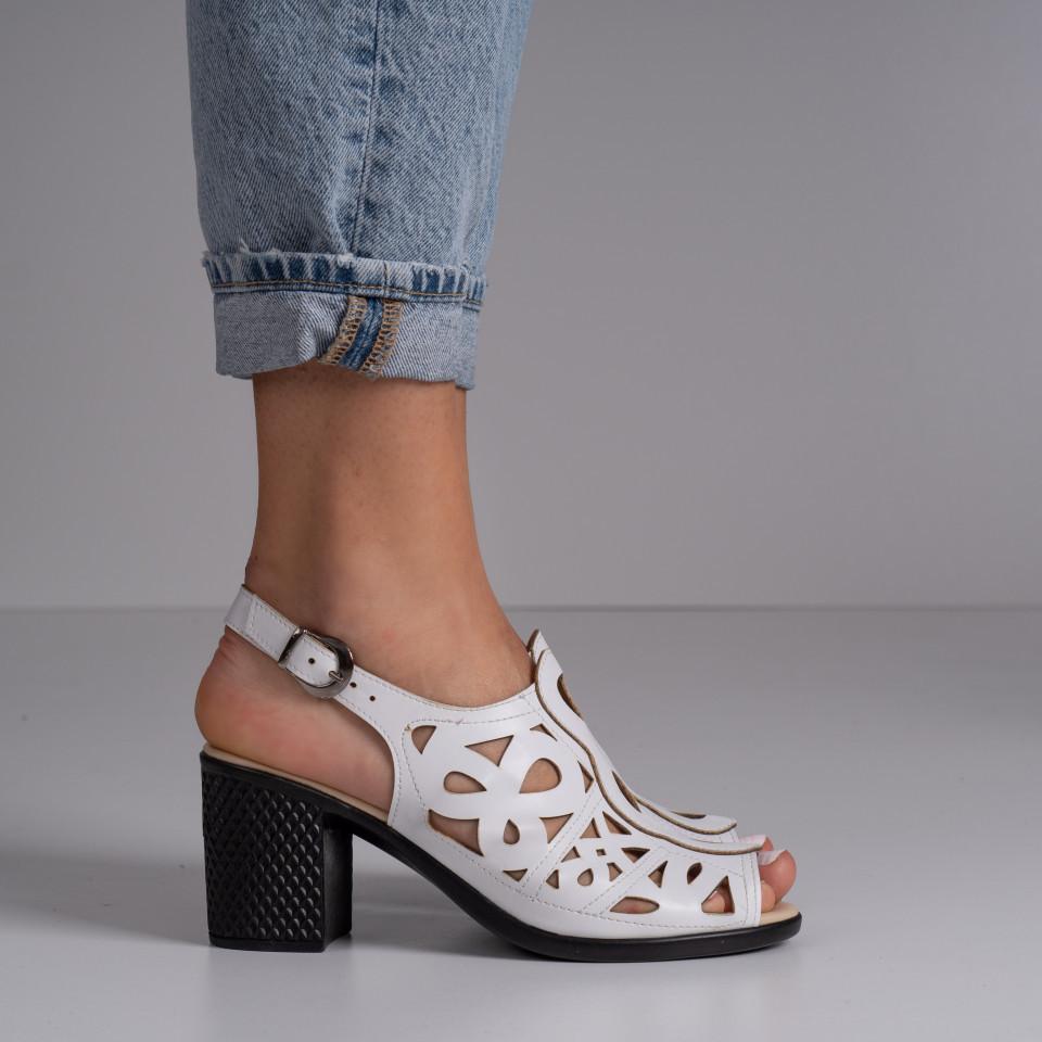 Sandale cu toc dama SB1402B
