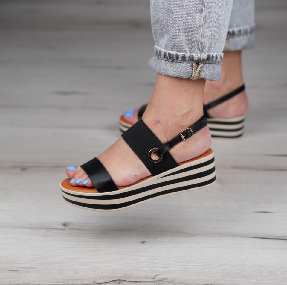 Sandale cu platforma dama SB1130B