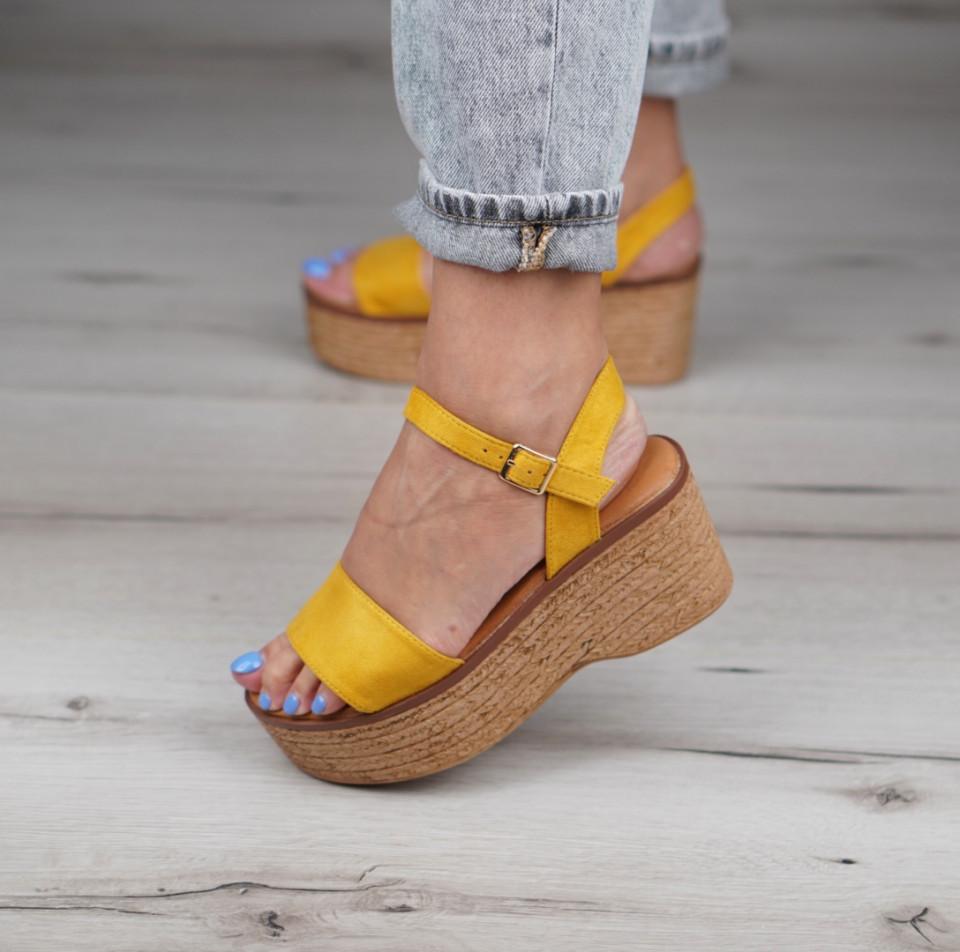 Sandale cu platforma dama SB1154B