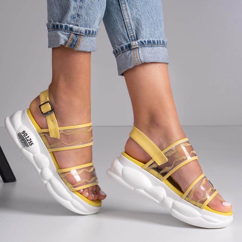 Sandale cu platforma dama SB1405B
