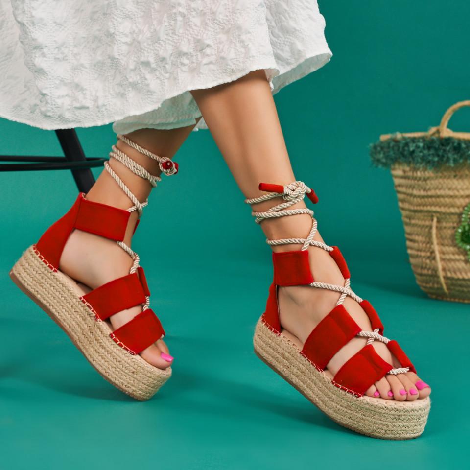 Sandale cu platforma dama SB1639B
