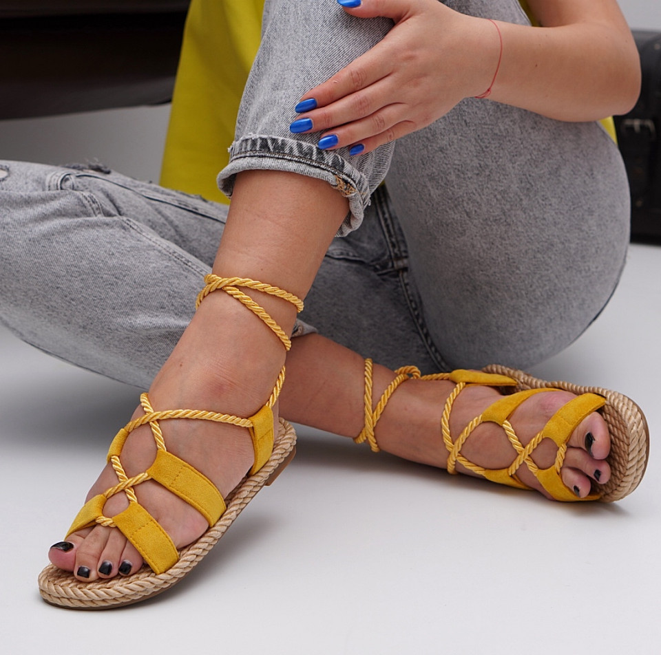 Sandale cu talpa joasa dama SB1543B