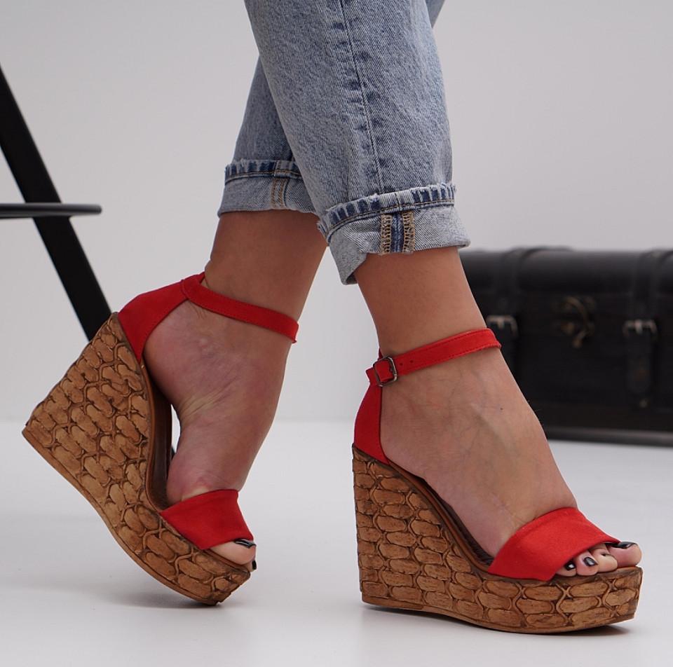 Sandale cu platforma dama SB1487B