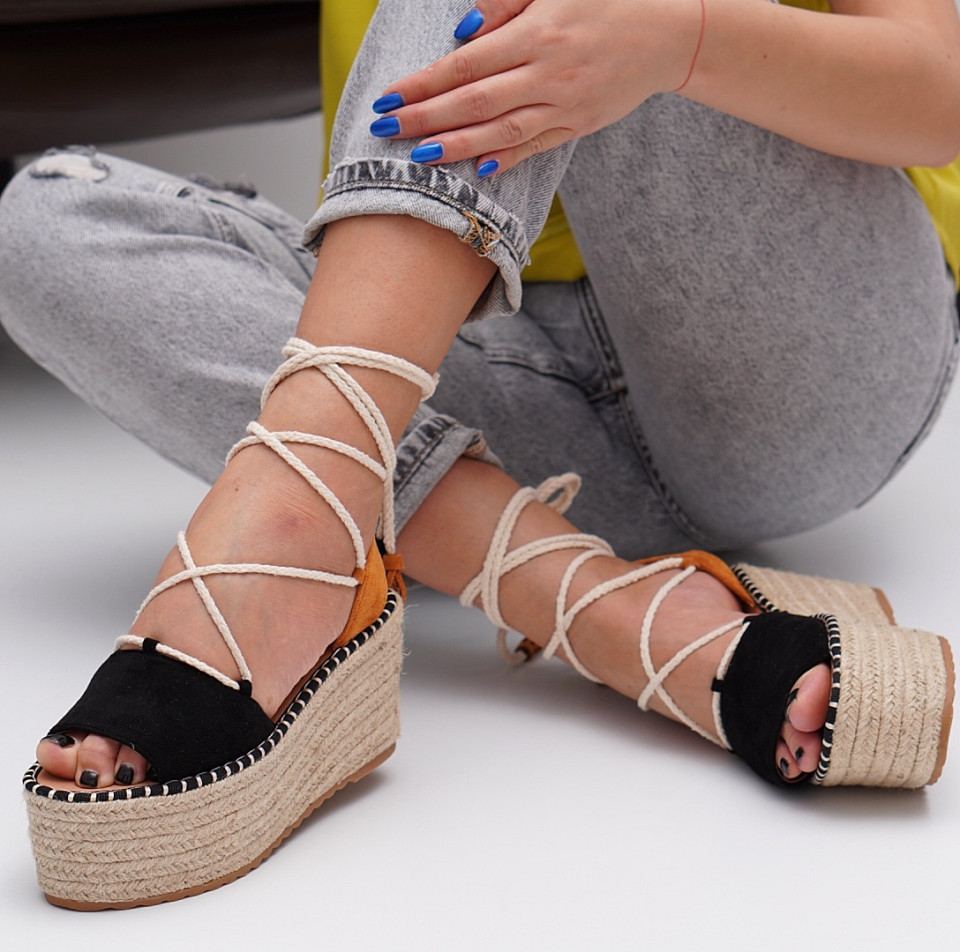 Sandale cu platforma dama SB1550B