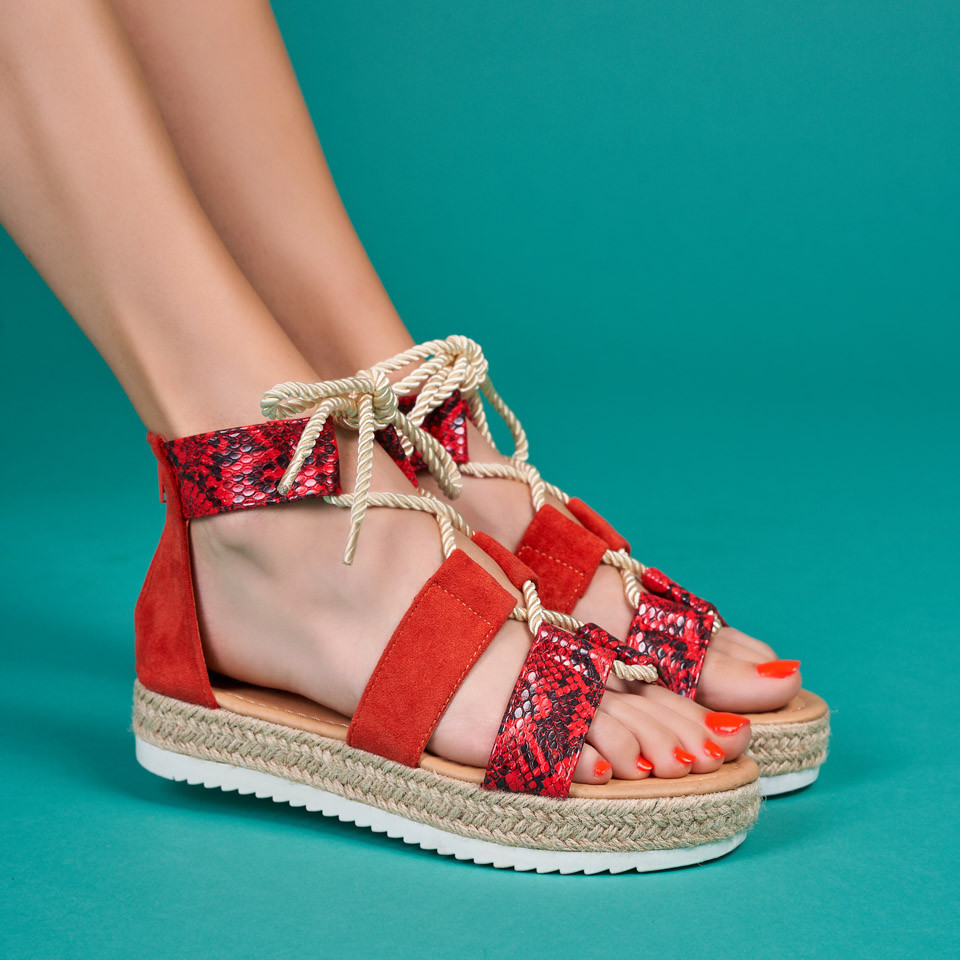 Sandale cu platforma dama SB1569B