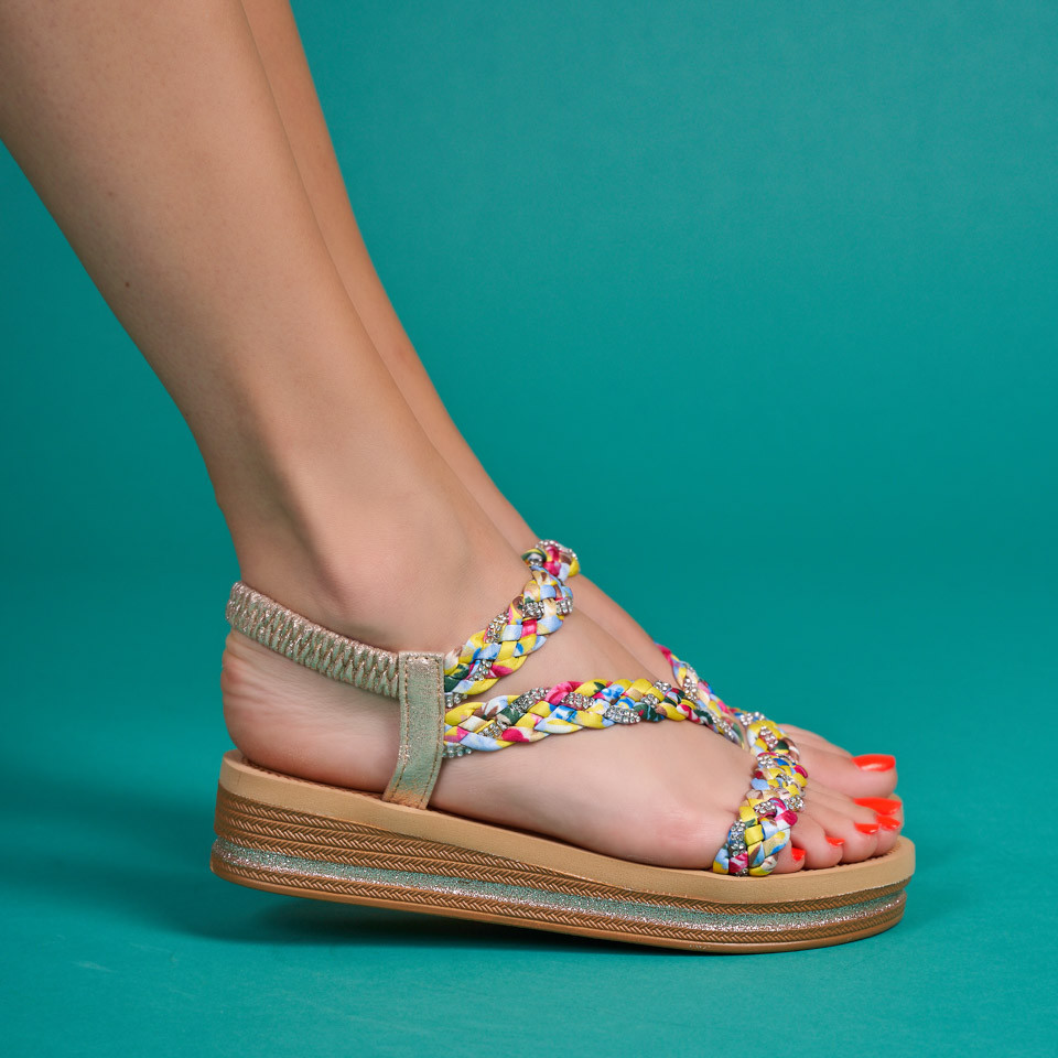 Sandale cu platforma dama SB1601B