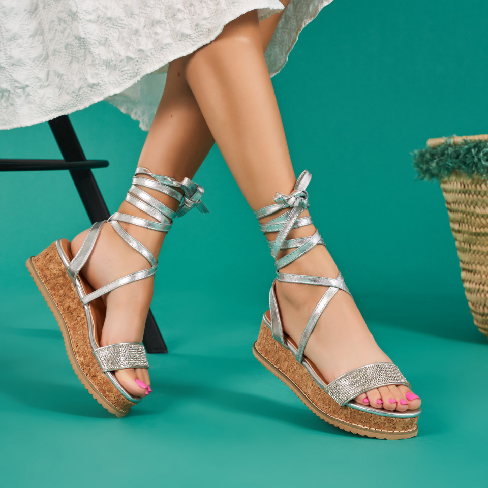 Sandale cu platforma dama SB1671B