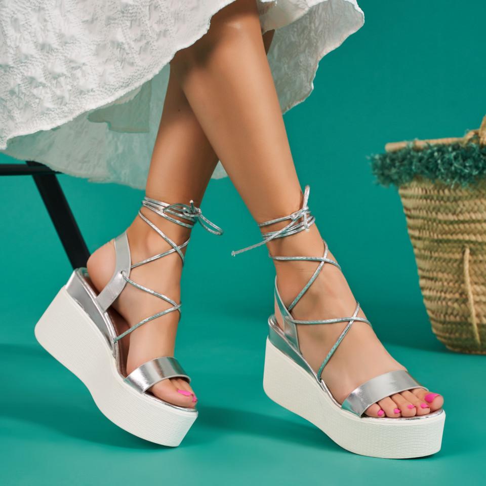 Sandale cu platforma dama SB1678B