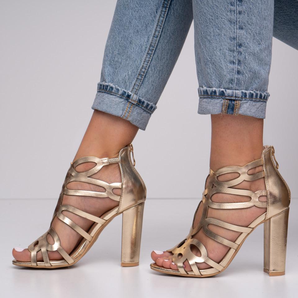 Sandale cu toc dama SB1393B