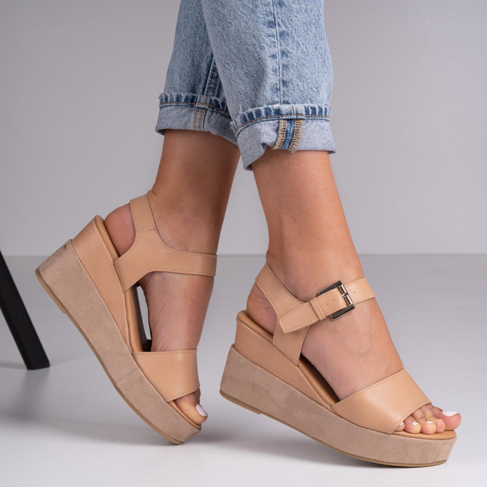 Sandale dama cu platforma SB1380B
