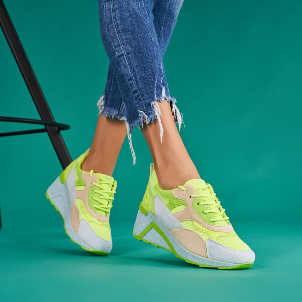 Pantofi sport cu platforma dama SB1691B