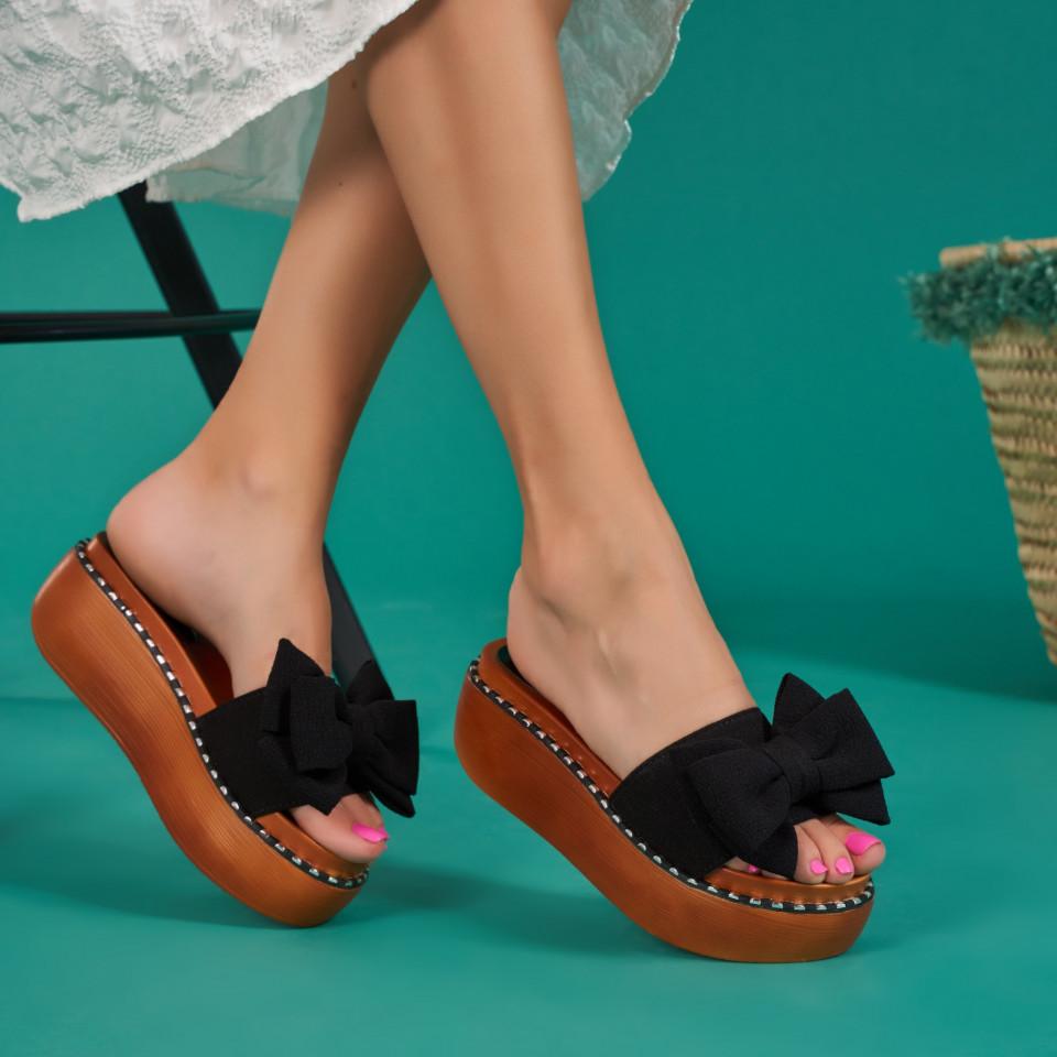 Papuci cu platforma dama SB1067B