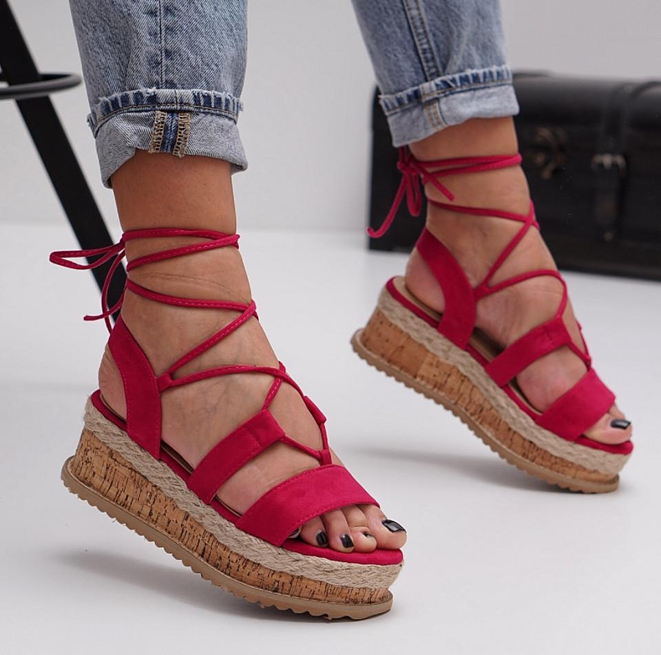 Sandale cu platforma dama SB1503B