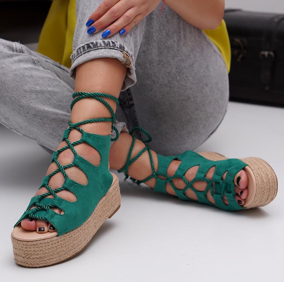 Sandale cu platforma dama SB1536B