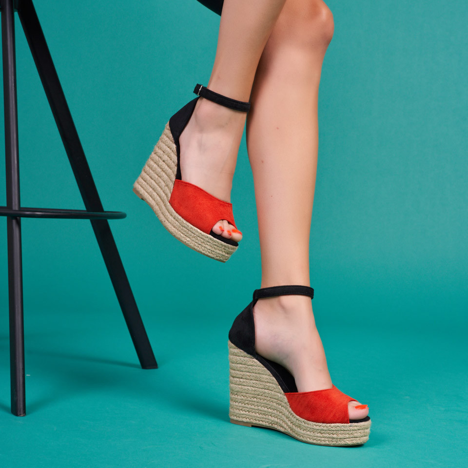 Sandale cu platforma dama SB1618B