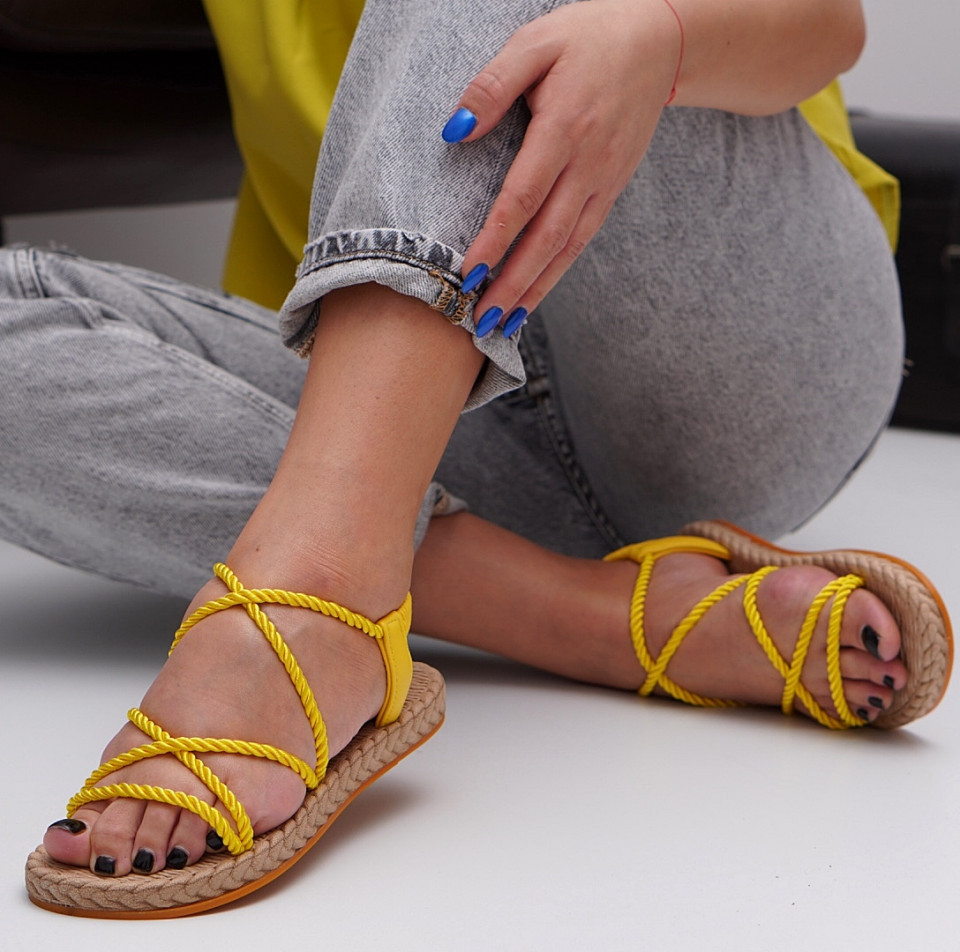 Sandale cu talpa joasa dama SB1526B
