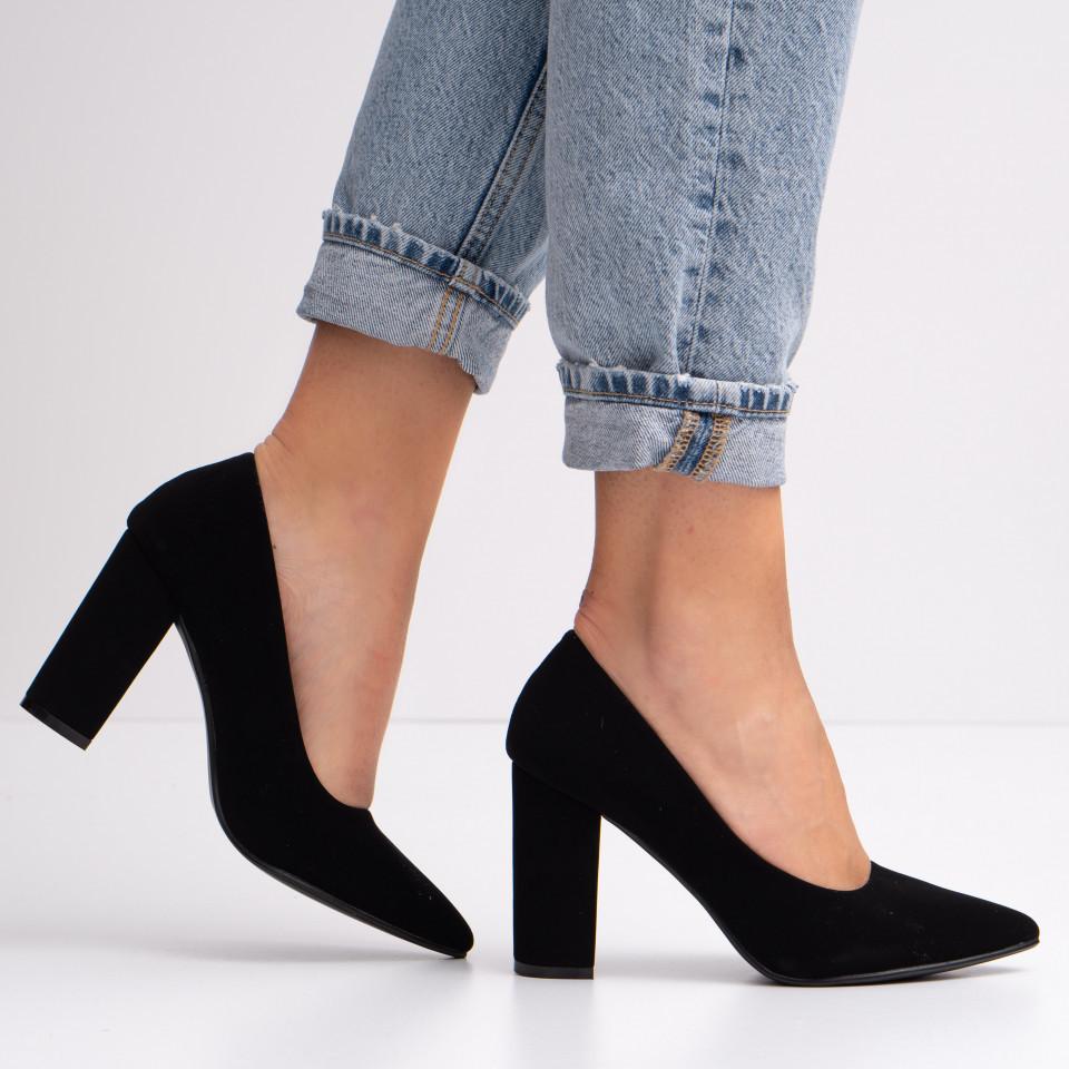 Pantofi cu toc dama SB1416B