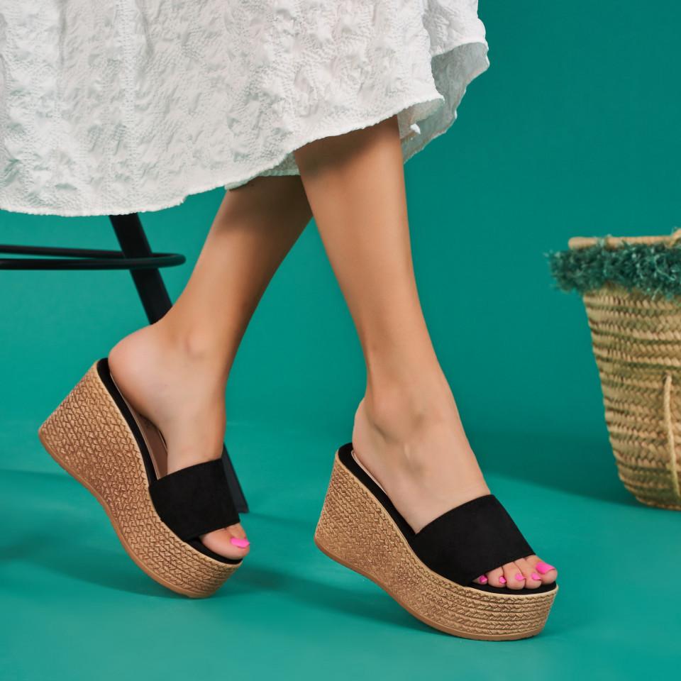 Papuci cu platforma dama SB1113B