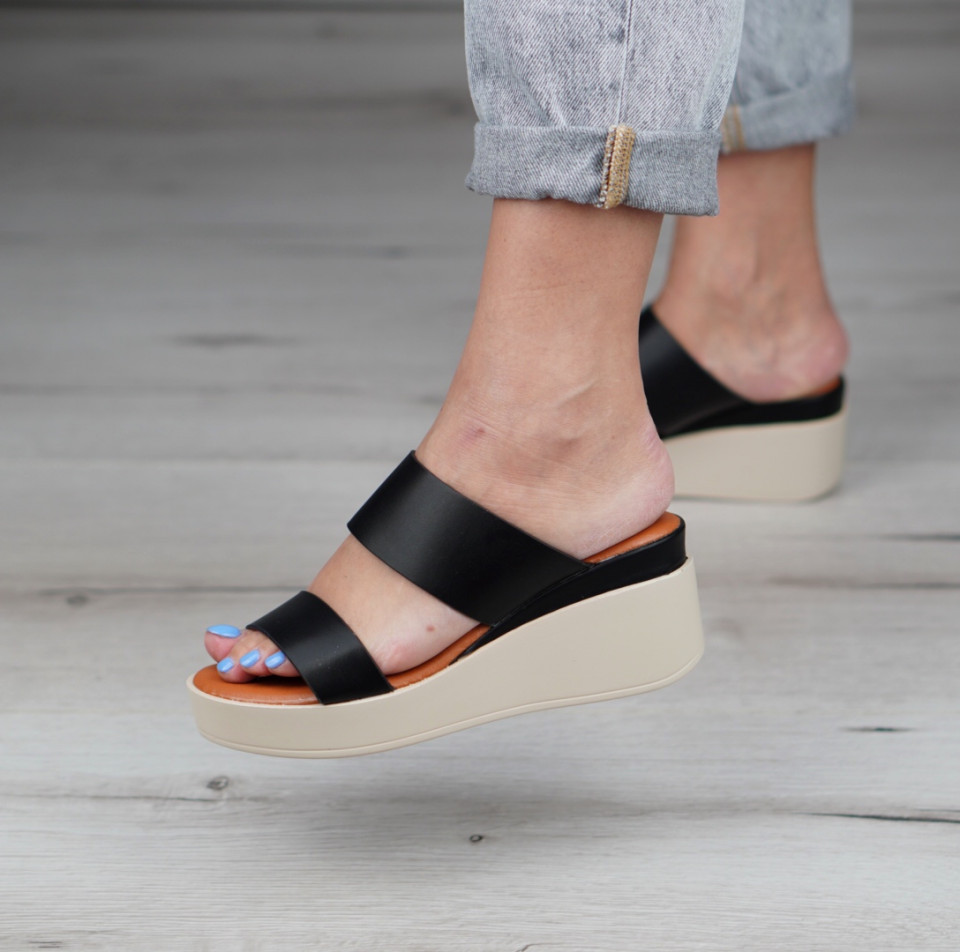 Papuci cu platforma dama SB1135B