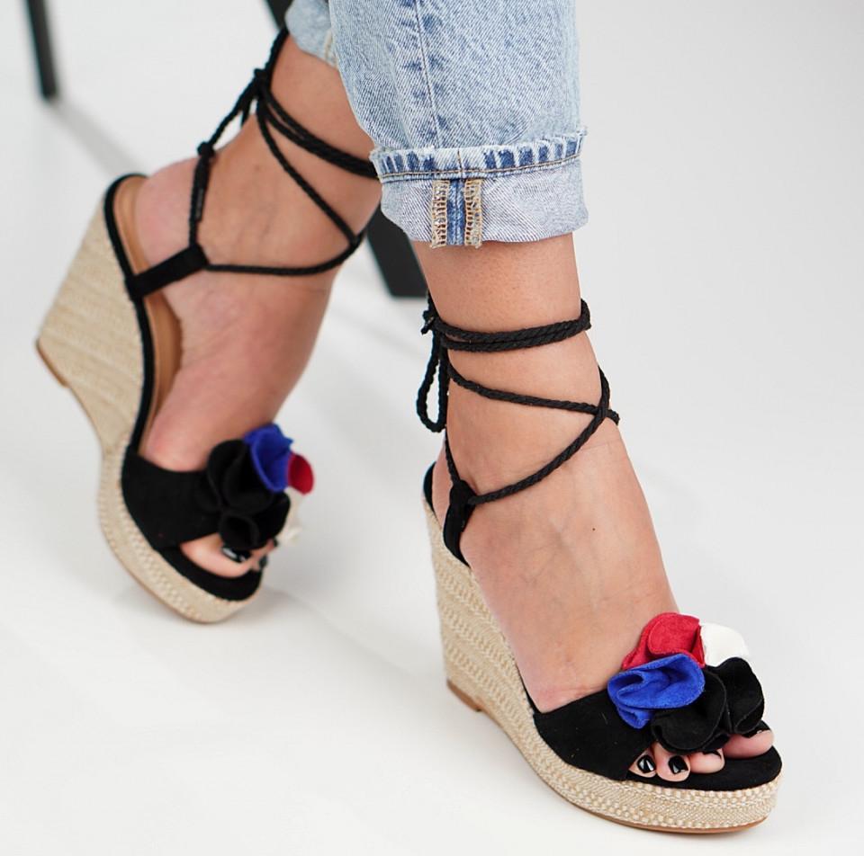 Sandale cu platforma dama SB1278B
