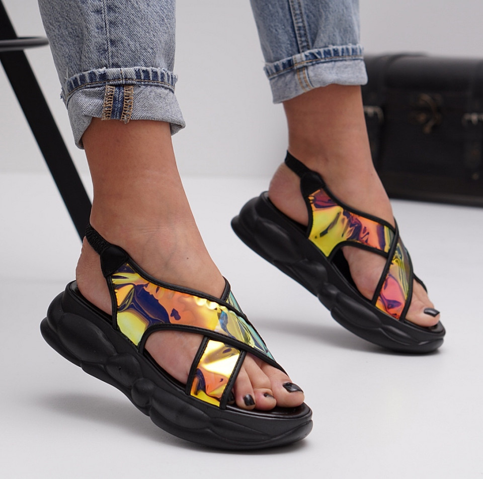 Sandale cu platforma dama SB1516B